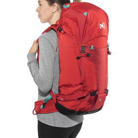 Millet Prolighter 38+10 Mochila, red-rouge